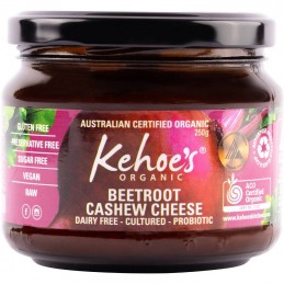 KEHOE'S CASHEW CHEESE BEETROOT