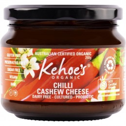 CASHEW CHEESE, CHILLI