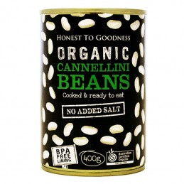 CANNELLINI BEANS TINNED, 400G