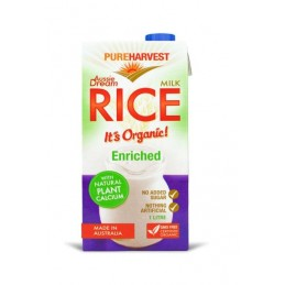 RICE MILK, CALCIUM ENRICHED
