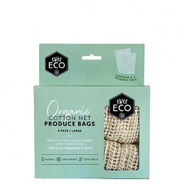 PRODUCE BAGS, NET, 4 PACK
