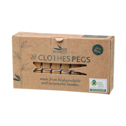 BAMBOO CLOTHES PEGS,20