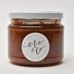 STRAWB/RHUBARB JAM, EVE & CO