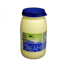 CREAM, COUNTRY VALLEY, 300ML