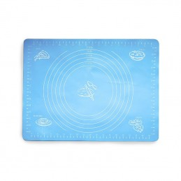 SILICON BAKING MAT, BLUE
